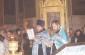 Молебен о создании семьи в соборе Воздвижения Креста Господня г. Омска