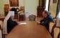 Губернатор Александр Бурков поздравил митрополита Владимира с юбилеем