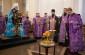 В Неделю Крестопоклонную митрополит Владимир совершил Литургию в Успенском кафедральном соборе